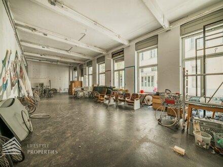 Werkstätte-Geschäftslokal in Toplage