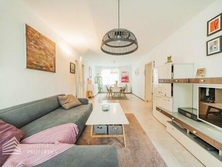Wunderschöne 3 Zimmerwohnung mit Garten, Nähe Donauinsel