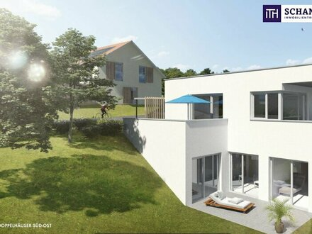 ITH: STIMMUNGSVOLLES Südwest - Terrassenhaus + Panoramablick + Hochwertige Ausstattung + Eigengarten + Carport!