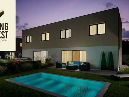 LIV Green Village Leonding - 2. BA Hochwertige Doppelhausvillen - Villa C1