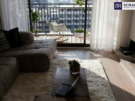 Großzügige Dachgeschosswohnung mit 22 m² Balkon+ Anleger und Privat!