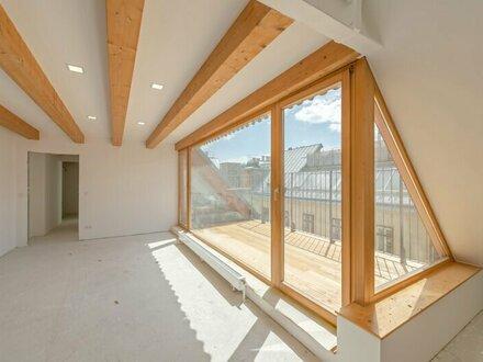 ++NEU** 3-Zimmer Dachgeschoss-Erstbezug mit Terrasse **Hofruhelage**