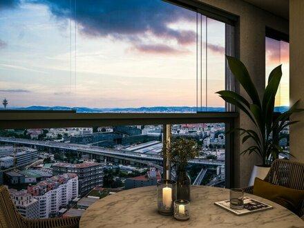 Ausblick, Zentrale Lage, Perfekte Infrastruktur - HELIO TOWER Urban Living