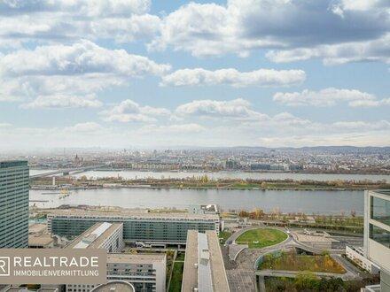 Luxus-Penthouse mit beeindruckendem Fernblick direkt an der neuen Donau (inkl. 3 Garagenplätzen)