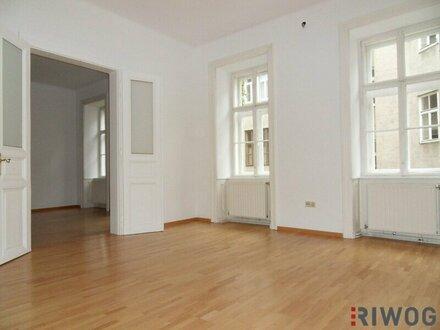 Charmante 3-Zimmer-Altbauwohnung in Hofruhelage!