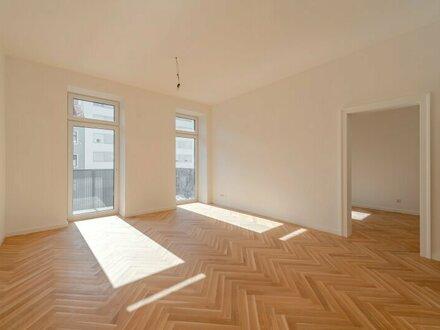 ++NEU++ Hochwertiger 2-Zimmer ALTBAU-ERSTBEZUG mit ca. 6m² Balkon u. getrennter Küche! toller Grundriss!