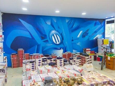 Verkaufsraum, Geschäftslokal, Büro vielseitig nutzbar mit viel Lagerfläche!! Insgesamt 220 m2