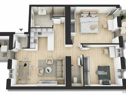 ++NEU** Hochwertiger 3-Zimmer ALTBAU-ERSTBEZUG, 2 Balkone (11m²), perfekter Schnitt!