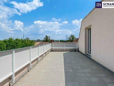 Dachterrassentraum! Uneinsichtige Dachgeschoßwohnung mit perfekter Raumaufteilung und atemberaubenden Blick ins Grüne!