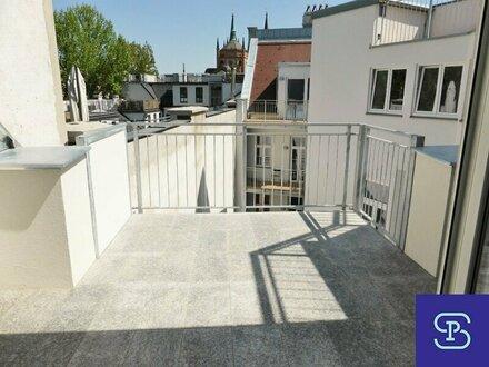 Klimatisierte 84m² DG-Wohnung + Terrasse mit Einbauküche - 1070 Wien