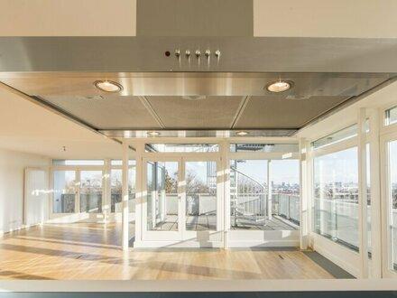 Exklusive Wohnung mit 3 Zimmern, Dachterrasse und Blick über ganz Wien - zu vermieten!