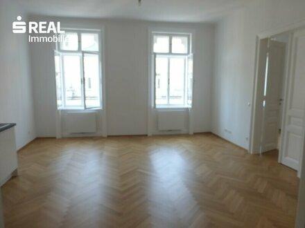 unbefristet - Judenplatz / Wipplingerstraße - sanierte 3-Zimmer-Altbauwohnung