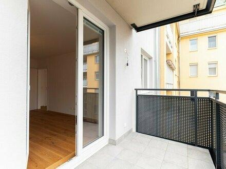 TOP! Erstbezug! 2-Zimmer-Wohnung mit Balkon in Ruhelage!