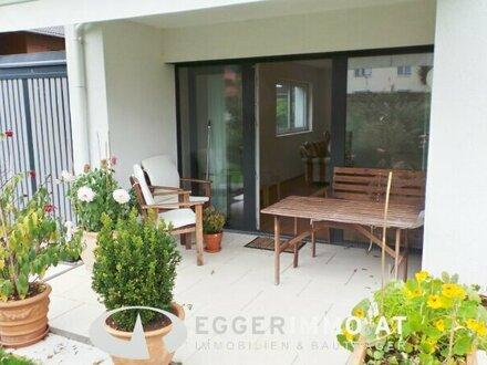 5761 Bruck an der Glocknestrasse: neuwertige 81m² 2 Zimmerwohnung mit Eigengarten, sehr sonnig Ruhelage + TG