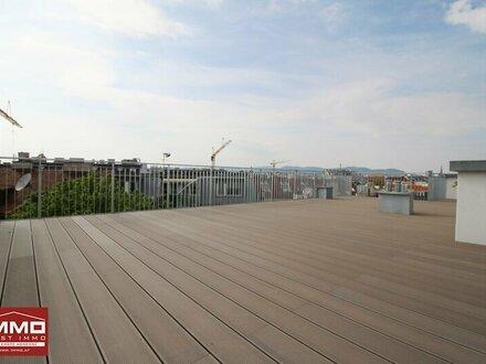 !i! 4-Zimmer DACHGESCHOSSWOHNUNG mit riesiger Dachterrasse zwischen Augarten und Prater!