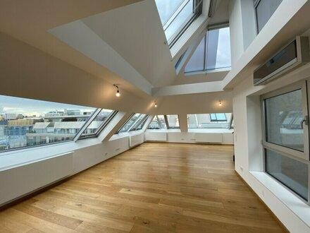 TRAUMHAFTE 4-Zimmer Etagenwohnung im DG mit 3 Terrassen mitten in 1010 Wien unbefristet - ZU VERMIETEN!