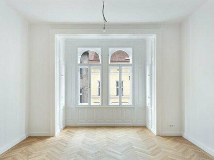 Erstbezug nächst Alserbachstraße! Stilvoll neugestaltete 4-Zimmer Altbau-Wohnung im 3. Liftstock