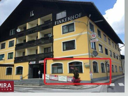 Zentrum Irdning - Top Geschäftsfläche plus Lagerraum! Büro, Einzelhandel, Ausstellungsraum oder Cafe - vieles ist möglich