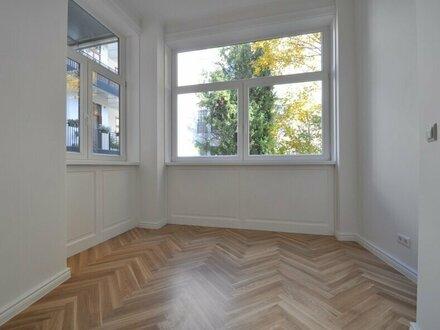EUM - ALTBAU ERSTBEZUG! Top sanierte, großzügige 3-Zimmer-Wohnung mit Balkon in wunderschöner Altbau-Liegenschaft