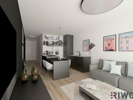 Topmoderne Balkonwohnung + Erstbezug + Ruhelage