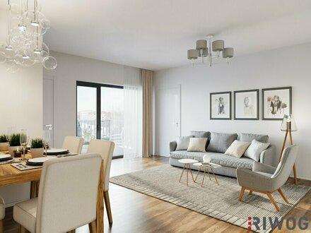 Modern Wohnen mit Altbaucharme - hochwertig sanierte Wohnung mit Freifläche