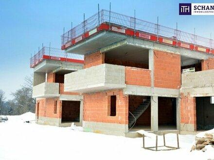 JETZT! Geniales ECK-Terrassenhaus mit zauberhaftem Ausblick + grandiosen Freiflächen + hochwertigen Materialien!