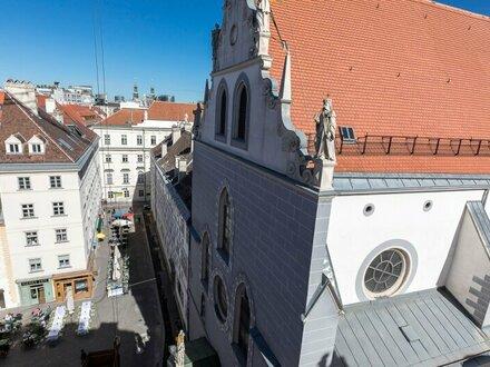 DACHERSTBEZUG AM FRANZISKANERPLATZ - 3 Zimmer Wohnung mit Balkon in HOFRUHELAGE - 16 repräsentative DACHWOHNUNGEN - 1010…