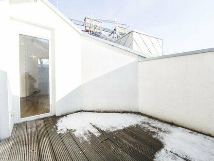 Entzückende 3-Zimmer DG-Wohnung mit Terrasse in 1070 Wien zu vermieten! Ideal für Paare und Singles!
