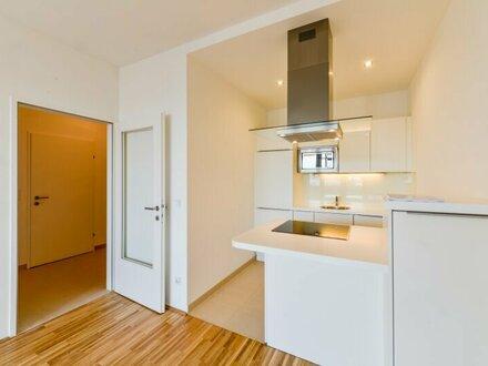 helle 2-Zimmer-Wohnung (48,50 m²) mit Loggia (7 m²) und Westblick! direkt bei U4+U6 Station Längenfeldgasse - ab OKTOBER