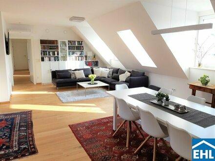 Uneinsichtiger Dachterrassentraum in historischer Lage