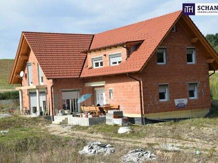 ITH FAMILIENTRAUM in ABSOLUTER RUHELAGE! LANDHAUS 240 m2 WFL, 50ig ZIEGELMASSIV, 3.200 m² Grundfläche zu einem GÜNSTIGEN…