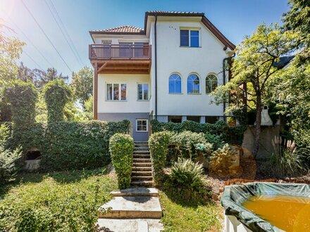 Reizvolles Einfamilienhaus in absoluter Ruhelage mit Ausblick am Waldrand - KLOSTERNEUBURG