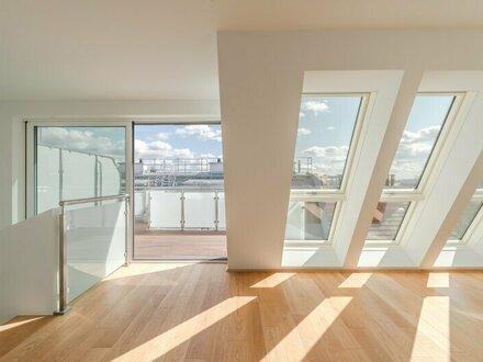++WEITBLICK** Hochwertige 4-Zimmer DG-Maisonette mit toller Terrasse!