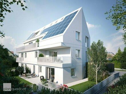Leopoldskron: Komfortable Gartenwohnung mit Südterrasse / Neubau