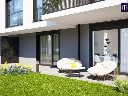 Genial - Traumhafte Gartenwohnung! Provisionsfrei + TOP Neubauprojekt + Ruhelage + High Quality + 3 Zimmer! Jetzt zugre…