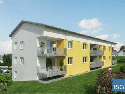 Neubauprojekt in Geretsberg, Dreizimmer-Mietwohnung Top 1