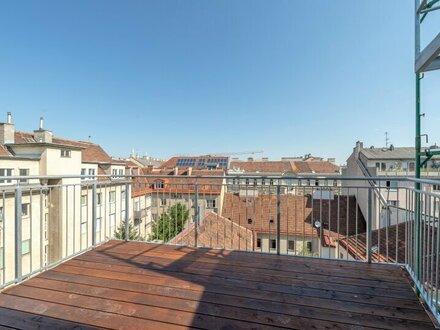 ++Hofruhelage** 3-Zimmer DG-Erstbezug mit Balkon u. Dachterrasse (63m²), toller Grundriss!