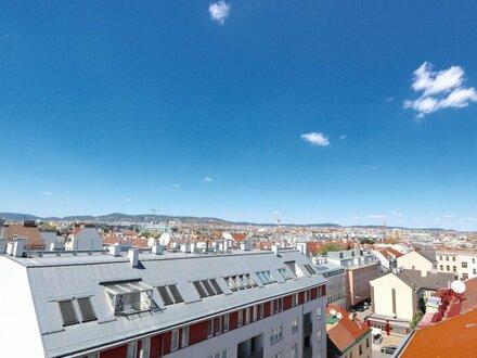 EUM - Südwestseitige Galeriewohnung! Dachgeschoß-Erstbezug mit hofseitiger Terrasse Nähe Schönbrunn