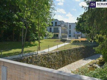 Wohnen im DG - Chillen im Garten. Ihr Zwei-Zimmer-Erstbezug direkt am Mauerbach! - PROVISIONSFREI!