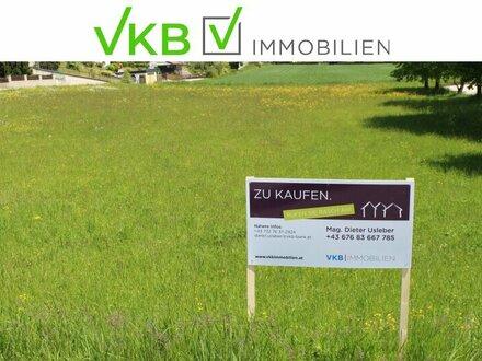 Grundstück mit Traunsteinblick