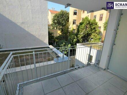 Perfekt aufgeteilte Drei-Zimmer-Wohnung im Erstbezug in ruhiger Lage mit gemütlichem Balkon!