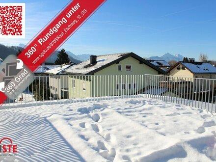 Penthouse-Apartment mit phänomenaler Dachterrasse - herrlicher Untersbergblick!
