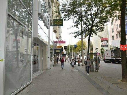Souterrain Geschäftsflächen mit EG-Antritt in top-Lage auf der Mariahilfer Straße Nähe Ekz Gerngross