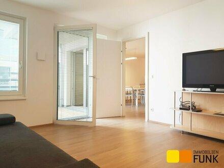 Erstbezug: Großzügige 2-Zimmer-Wohnung mit Balkon
