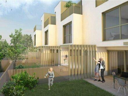 "++NEU++ Projekt ""SONNENDECK"", 5 hochwertige Architekten-Reihenhäuser nahe Seestadt Aspern!!"