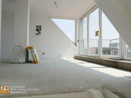 Hochwertige 3-Zimmer DG-Maisonette, Erstbezug, mit 13 m² Dachterrassen!!!