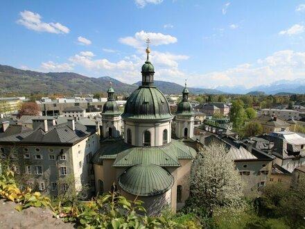 Helle Garconniere in Ruhelage inmitten von Salzburg