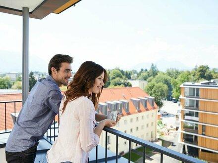 Provisionsfrei für den Mieter - Dachgeschosswohnung in Panoramalage - Erstbezug
