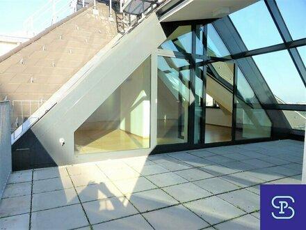 Prater-Cottage: exklusive 144m² DG-Wohnung + 3 Terrasse und Einbauküche - 1020 Wien