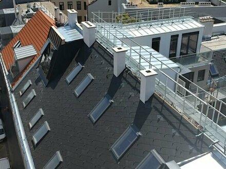neu erichtetes Luxus Traumdachgeschoss nähe Mariahilfestraße mit Klima - Fußbodenheizung - smart Home System uvm.